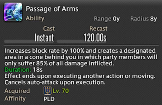 passage of arms