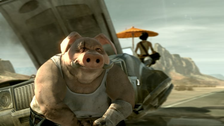 primer prototipo de Beyond Good and Evil 2 principal