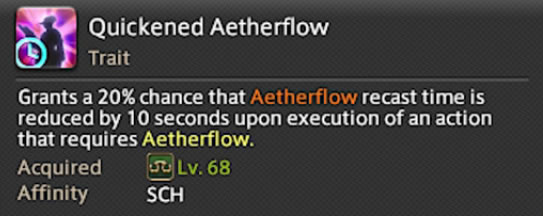 quickened aetherflow