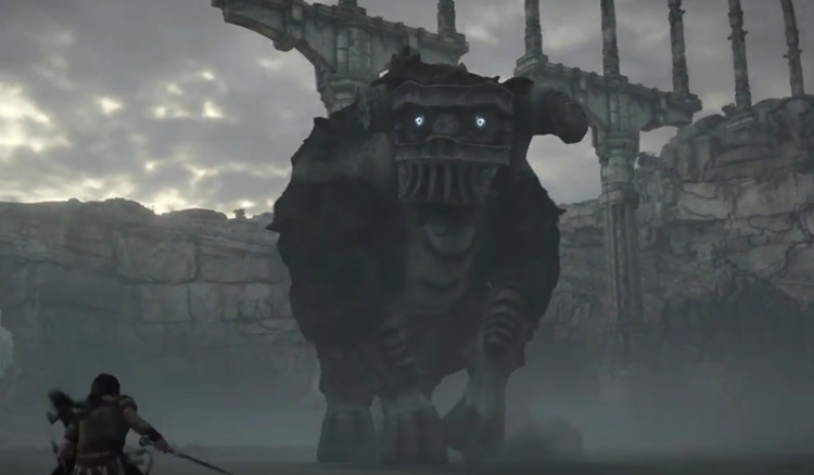trailer del remake de shadow of the colossus