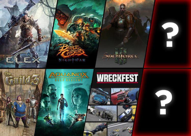 nuevos juegos de THQ Nordic en la Gamescom
