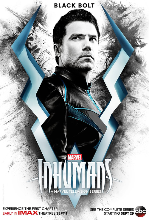 posters de inhumans black bolt