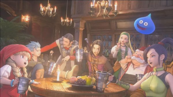 video prologo de dragon quest xi 2