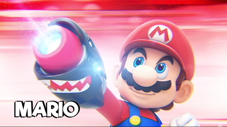 nuevo tráiler de Mario + Rabbids Kingdom Battle