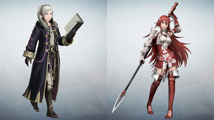 Daraen chica y Cordelia para Fire Emblem Warriors.