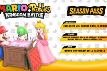 Mario + Rabbids Kingdom Battle tendrá pase de temporada