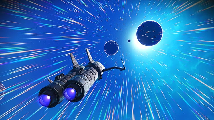 Vídeo del final de la ruta del Atlas en No Man's Sky Atlas Rises