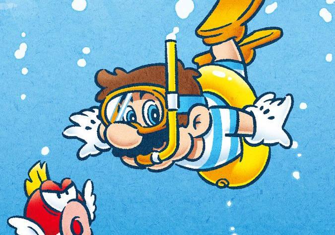 Este artwork de Super Mario Odyssey nos refresca el caluroso verano