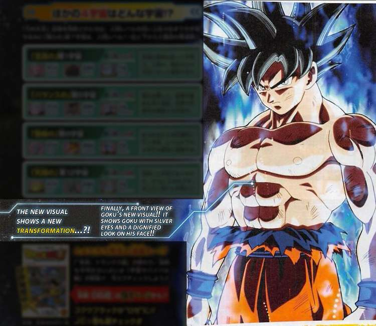 nueva transformación de Goku en Dragon Ball Super