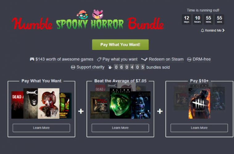 nuevo Humble Bundle nos trae Dead By Deadlight