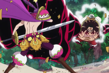one piece 801 luffy vs cracker