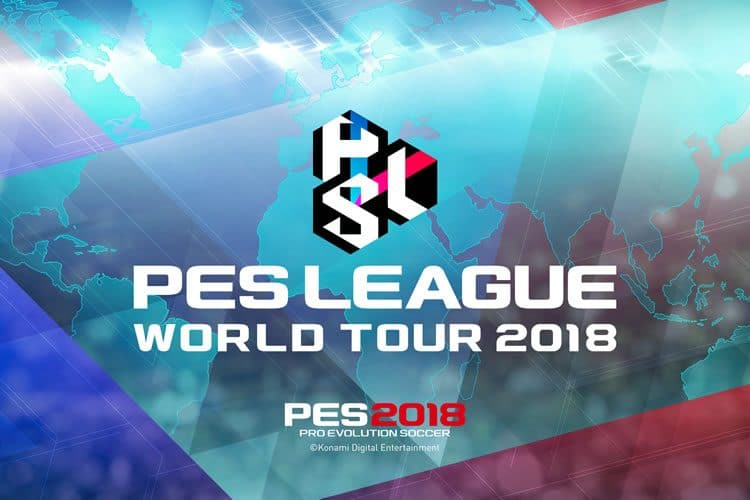pes league world tour 2018
