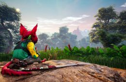 primer gameplay de Biomutant en la gamescom 2017