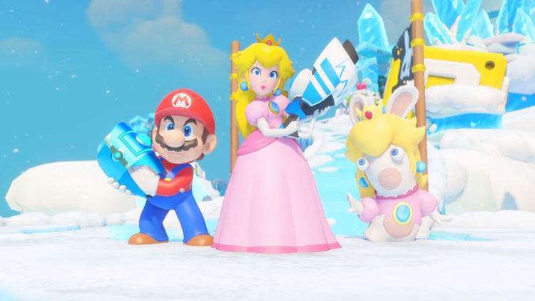 tráiler de Mario + Rabbids Kingdom Battle
