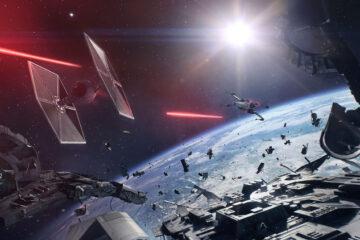 tráiler de las batallas espaciales de star wars battlefront ii
