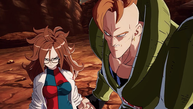 Androide 21 hace acto de presencia en el último gameplay de Dragon Ball FighterZ