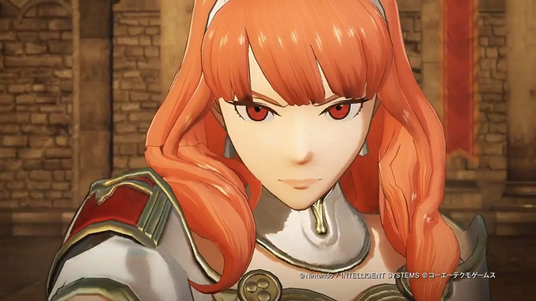 Celica en Fire Emblem Warriors