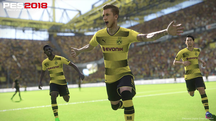 análisis de Pro Evolution Soccer 2018 para PC