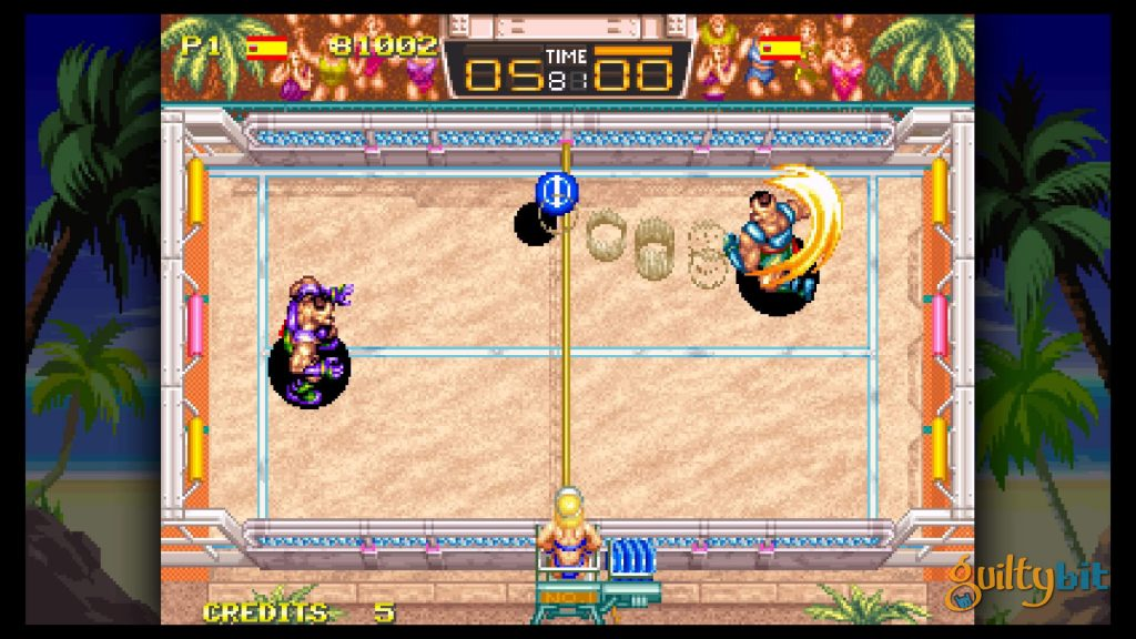 Análisis de Windjammers para PlayStation 4