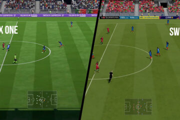 comparativa de FIFA 18 en Nintendo Switch vs Xbox One