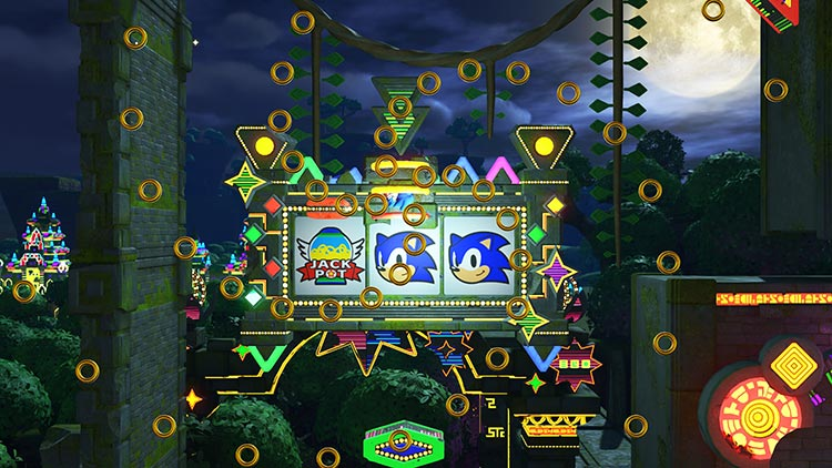 escenario Casino Forest de Sonic Forces