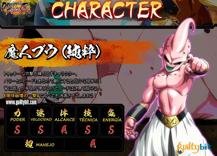Apunta todas las estadísticas de los personajes de Dragon Ball FighterZ