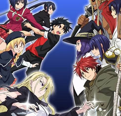 estrenos anime de otoño de 2017 UQ Holder