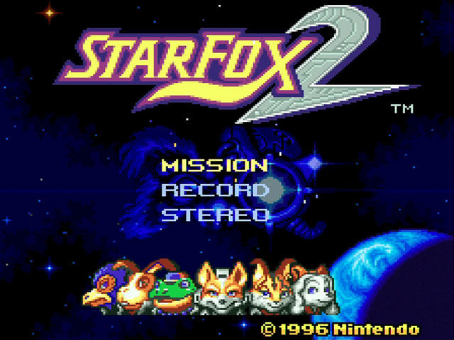El manual de instrucciones de Star Fox 2 ya está disponible de forma online