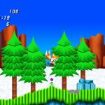 sonic 2 hd hill top