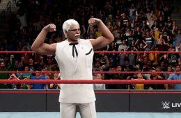 Coronel Sanders en WWE 2K18