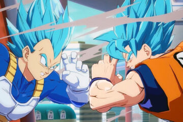 Nuevo gameplay de Dragon Ball FighterZ con Vegeta y Goku en SSGSS