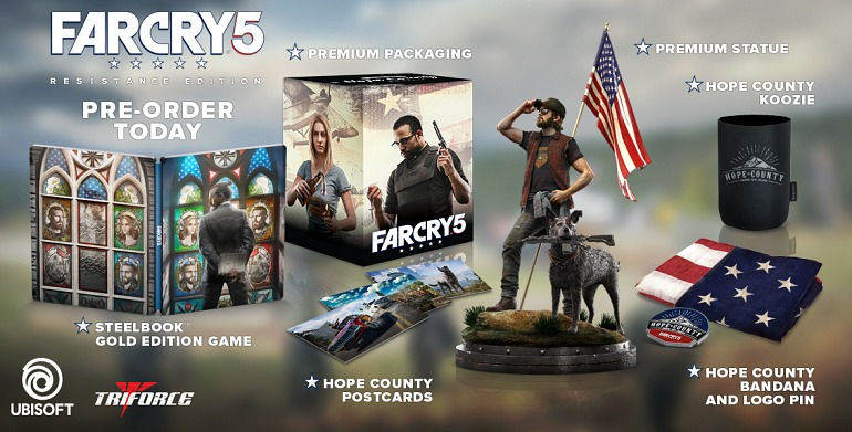 Resistance Edition de Far Cry 5
