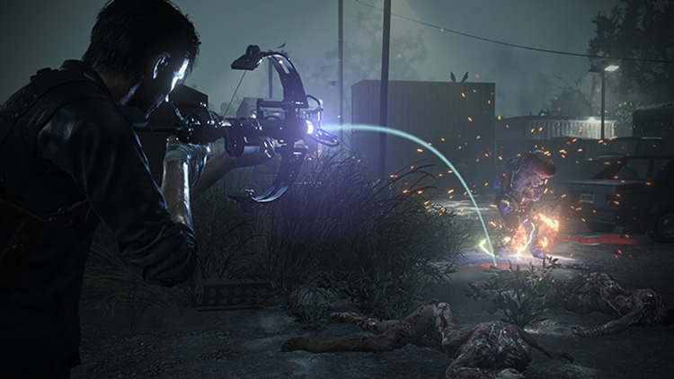 Trofeo y localización de la ballesta en The Evil Within 2
