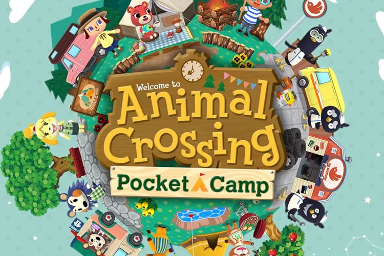 animal crossing pokect camp