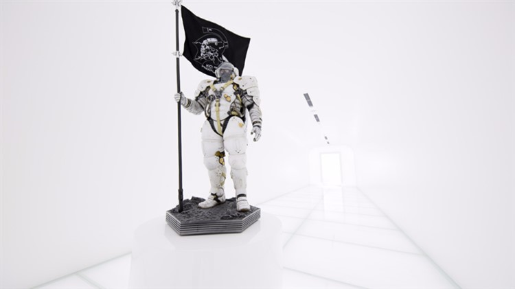 estatua de ludens en kojima productions