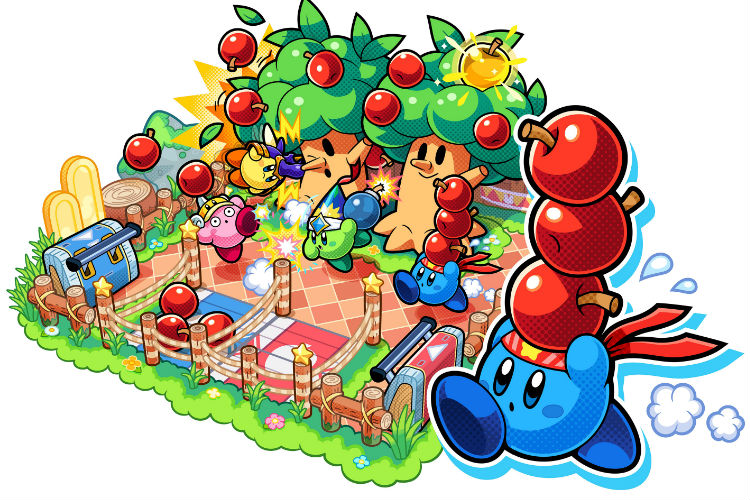 impresiones de kirby battle royale 3
