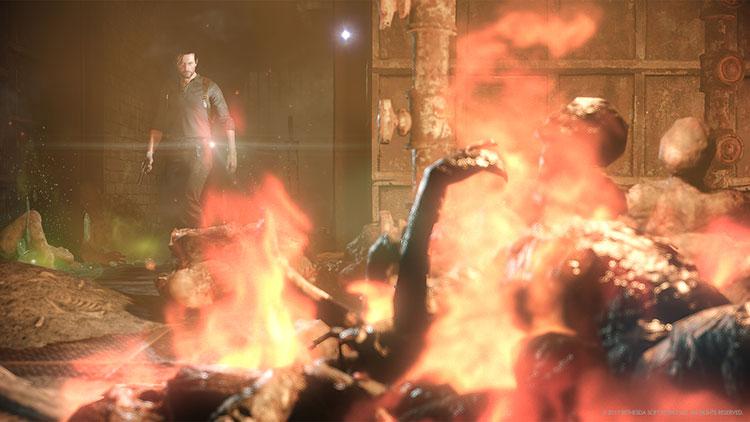 Reparación y localización del lanzallamas en The Evil Within 2