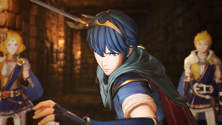 parche con voces en japonés para Fire Emblem Warriors