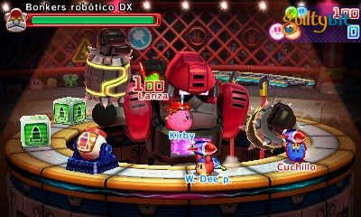 Análisis de Kirby Battle Royale para Nintendo 3DS
