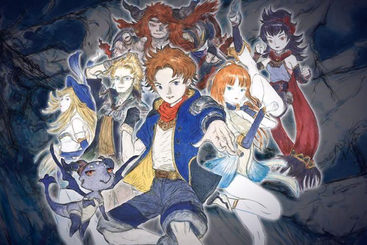 lanzamiento de final fantasy dimensions ii