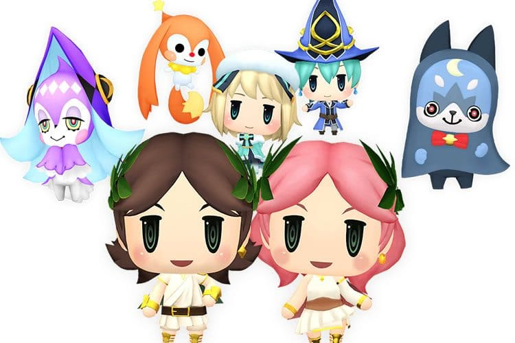 video de world of final fantasy meli melo