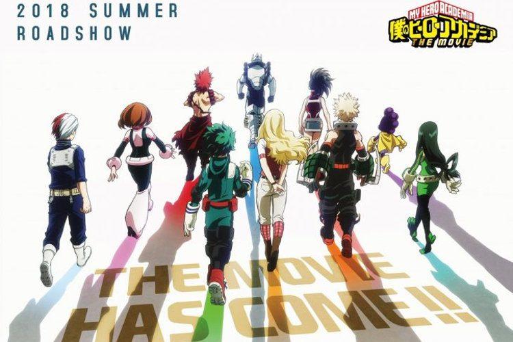 equipo de la película de boku no hero academia