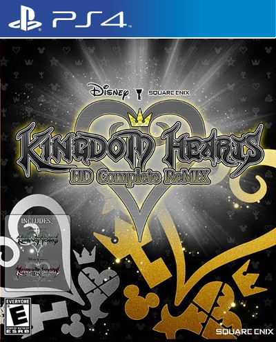 kingdom hearts complete collection hd