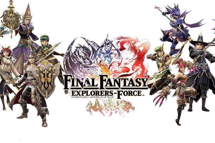 retraso de final fantasy explorers-force