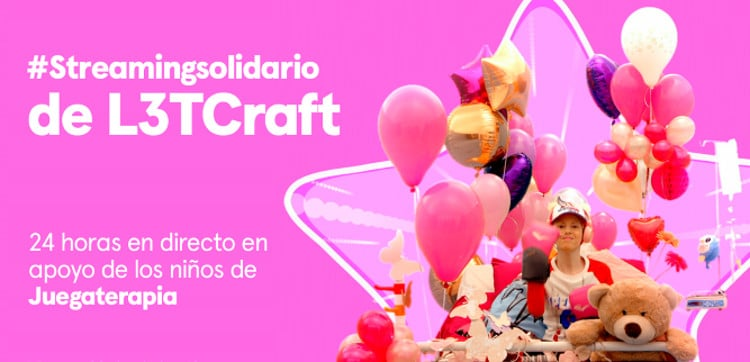 streaming solidario de l3tcraft
