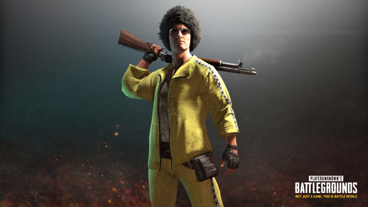 traje ochentero de Playerunknowns Battlegrounds