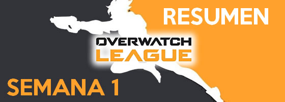 Resumen de la primera semana de la Overwatch League 2018