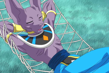 Tráiler de Beerus en Dragon Ball FighterZ haciendo Hakai