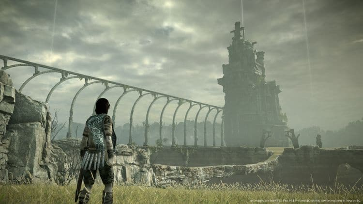 análisis de shadow of the colossus
