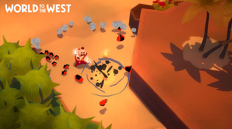 análisis de World to the West